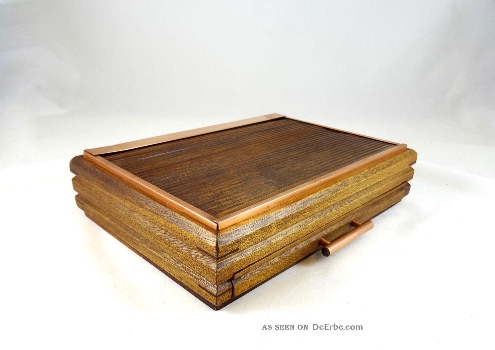 art deco 1930 schmuck schatulle schmuckk stchen rolladent r antik box. Black Bedroom Furniture Sets. Home Design Ideas