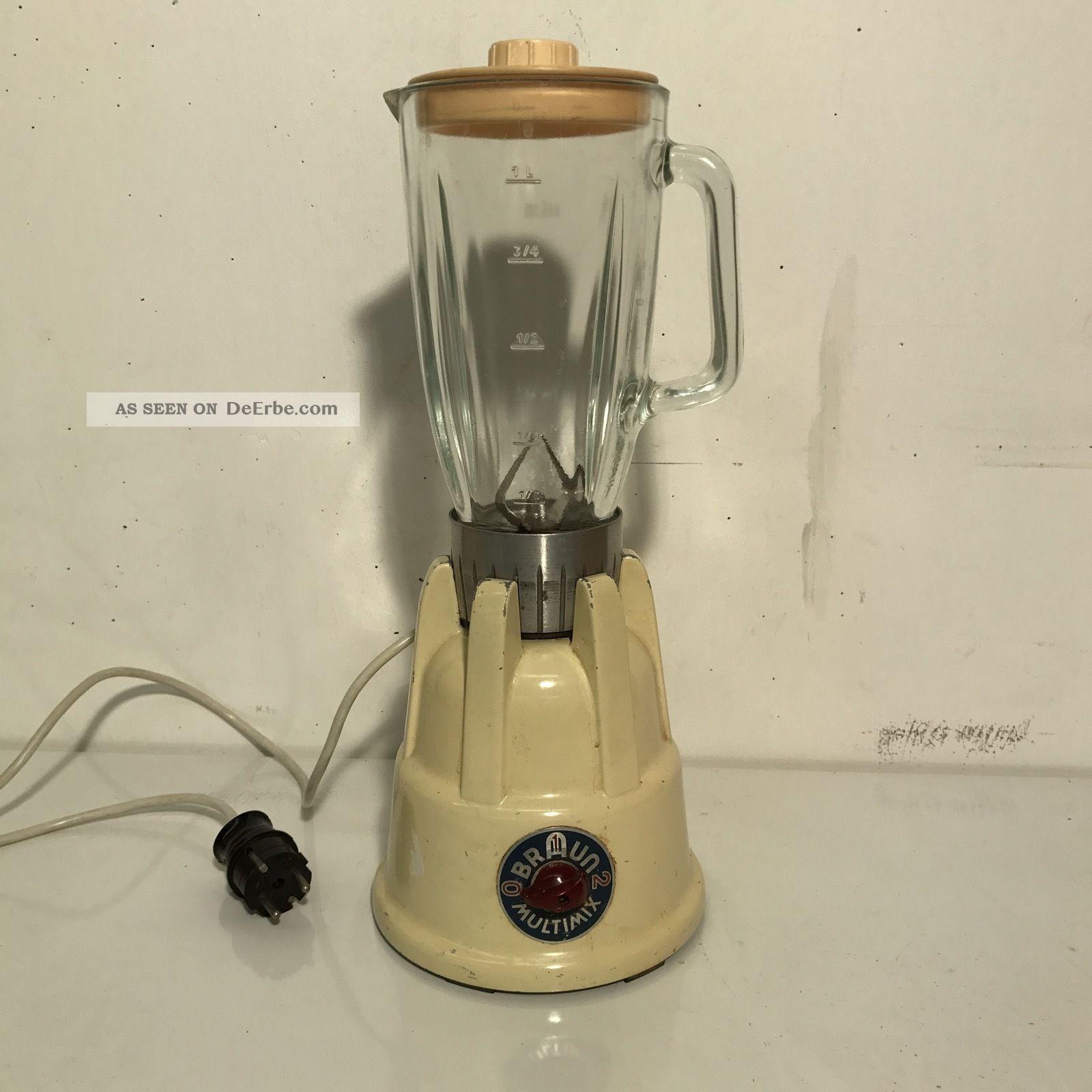 Vintage Braun Multimix 155380 Standmixer 50er 60er Jahre 1950-1959 Bild