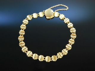 Fine Gold Bracelet WunderschÖnes Goldschmiede Armband Gold 750 13,  2 Gramm Bild