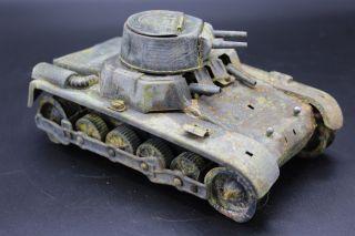 Restaurationsobjekt Gama Panzer Us Zone? Blechspielzeug 1950 Bild