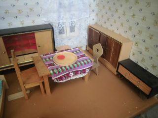 Konvolut Alte Möbel Für Puppenstube,  Alles Aus Holz,  Versch.  Puppen Bild