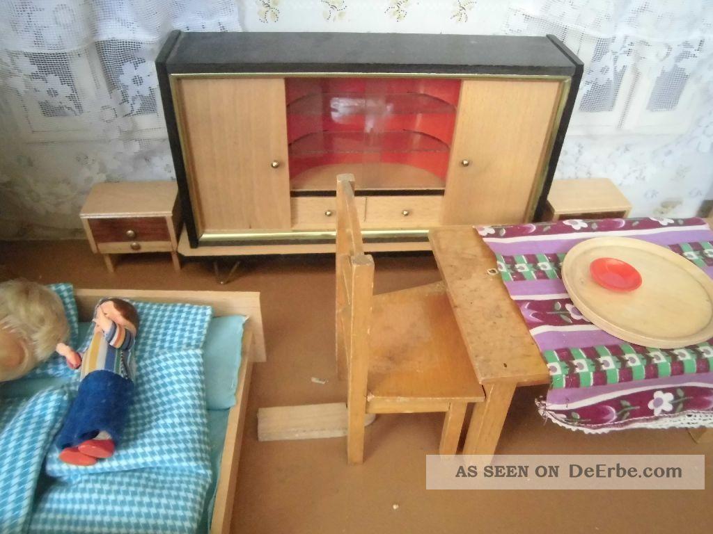 konvolut alte m bel f r puppenstube alles aus holz versch puppen. Black Bedroom Furniture Sets. Home Design Ideas
