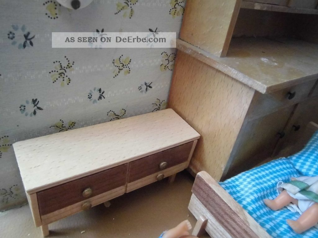 konvolut alte m bel f r puppenstube alles aus holz versch puppen. Black Bedroom Furniture Sets. Home Design Ideas