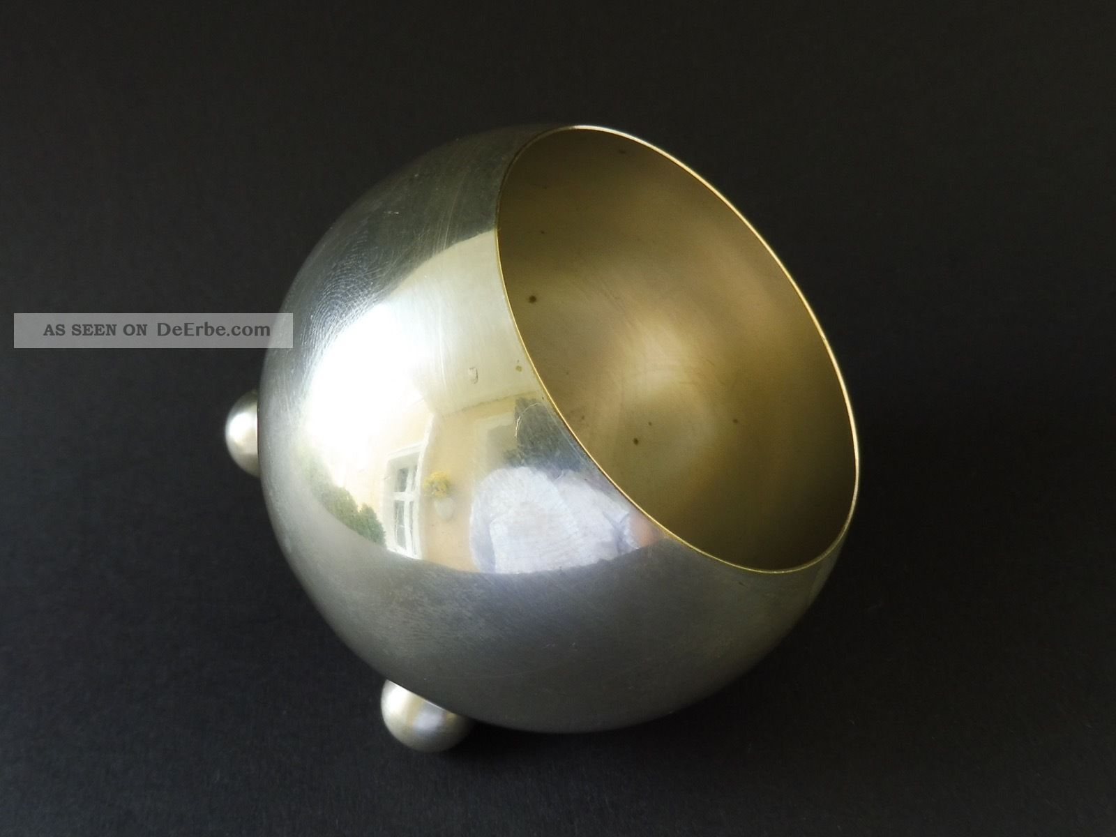 Wien jugendstil kugel cachepot schule josef hoffmann ww for Design schule wien