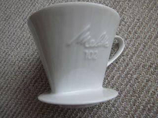 Melitta 102 Porzellan Filter Aufsatz, Bild
