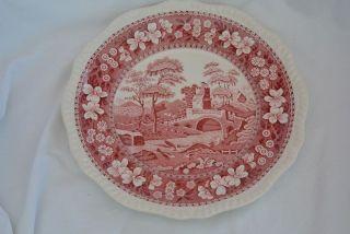 Spode Copeland Pink Tower - Speiseteller 27cm - Bild