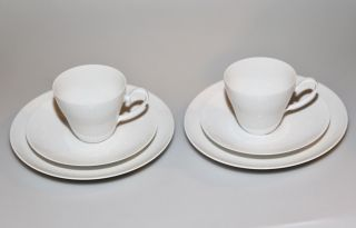 Rosenthal|romanze|kaffeetasse,  Untertasse,  Kuchenteller|wiinblad|6tlg|top Bild