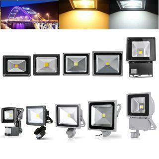 70w Led Hallenleuchte Industrielampe Hallenfluter Werkstattbeleuchtung Alu Ip54 Bild