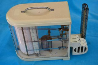 Alter Lufft Thermograph Thermohygrograph Bild