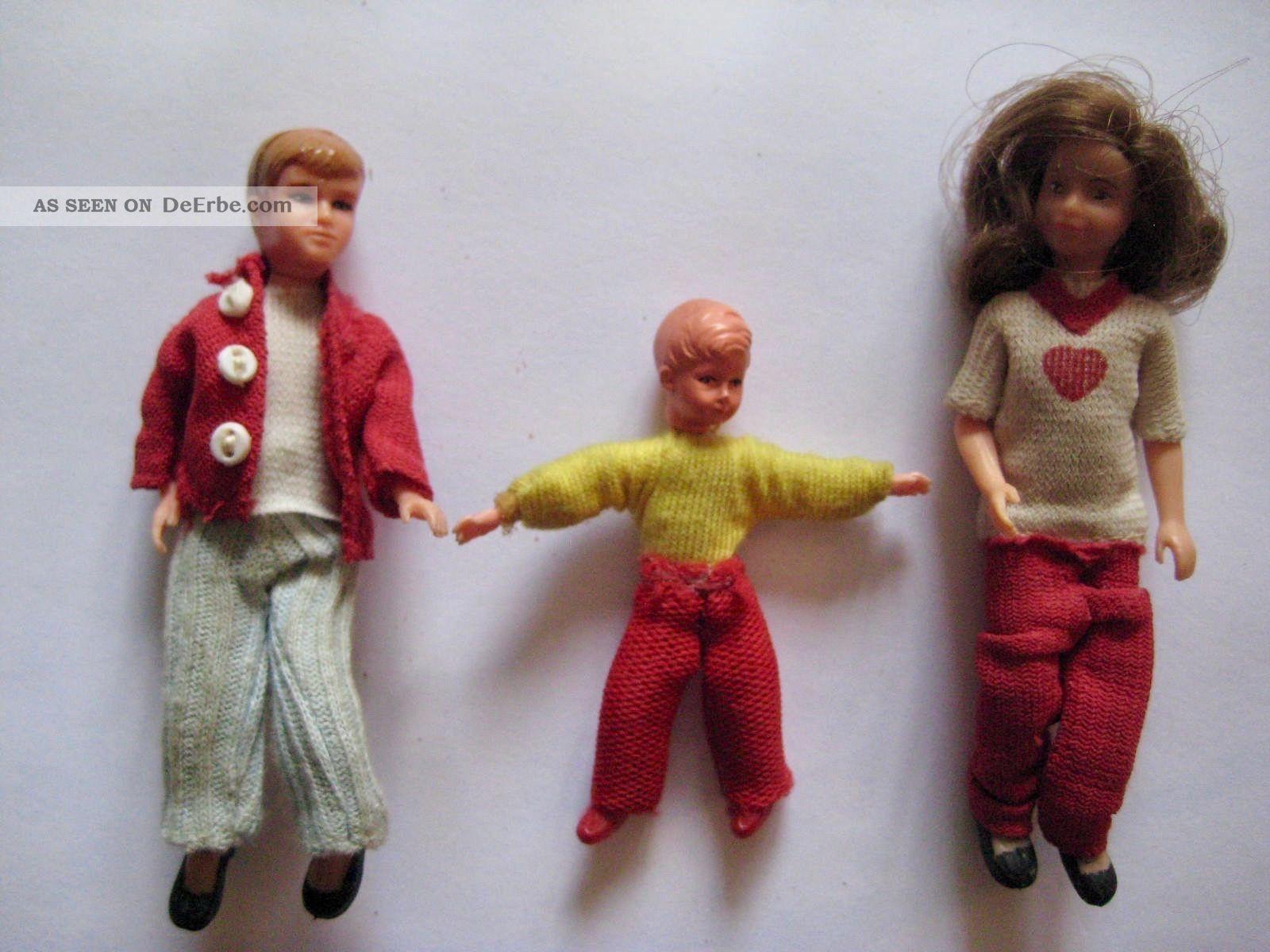 Rarität Puppenstubenpuppen Biegepüppchen Lundby Caco ? Lohnt Sich Look Original, gefertigt vor 1970 Bild