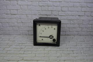 K Leipzig Ddr Amperemeter Tgl 16530 8/72 0 - 25a Dc; K23 101 Bild