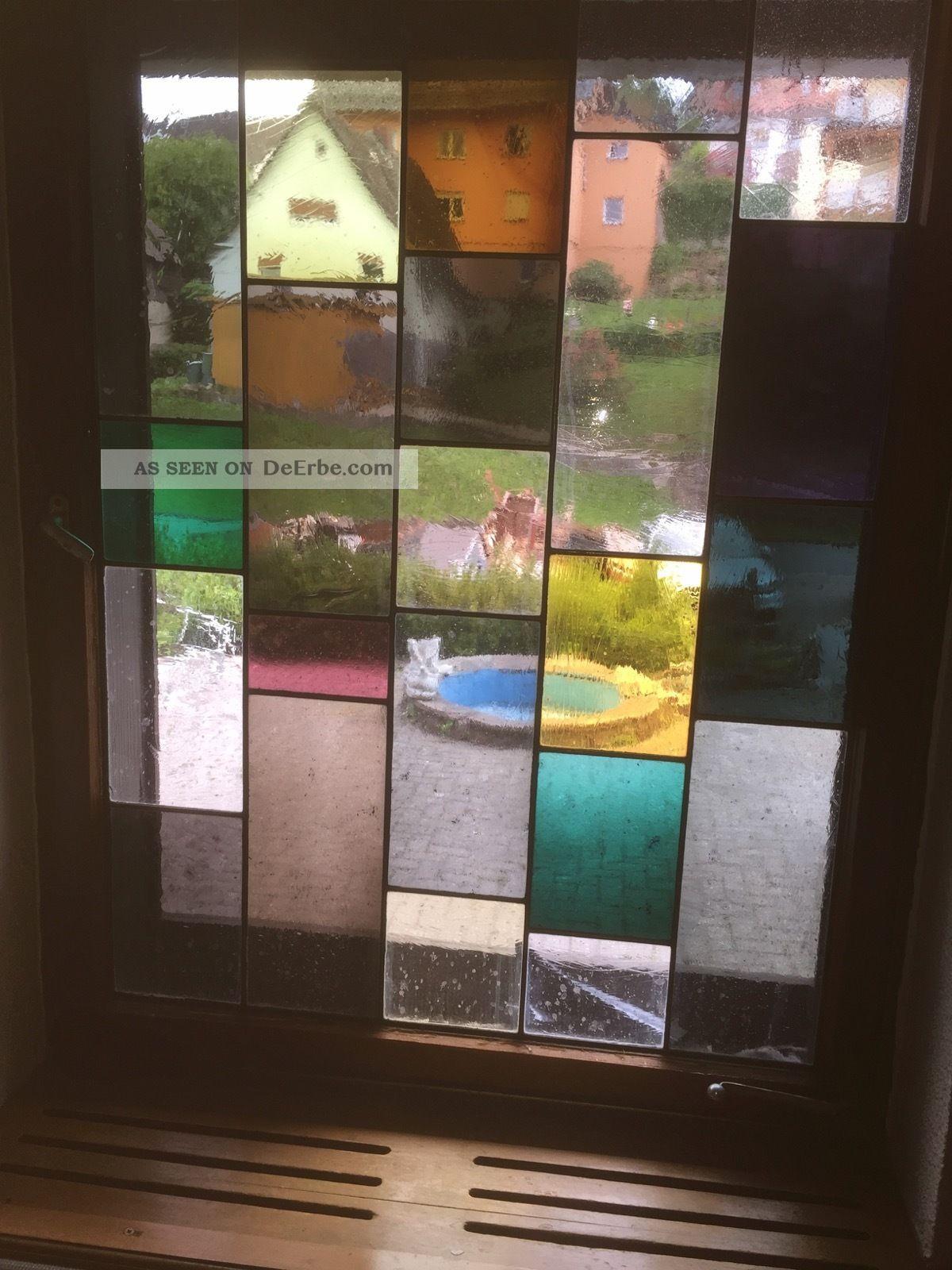 Buntglas Fenster Nostalgie- & Neuware Bild
