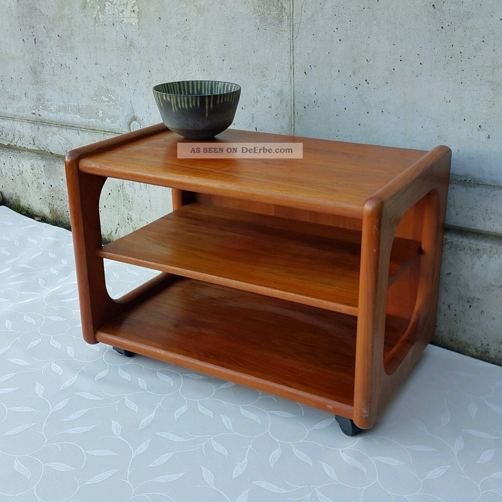 Denmark Teak Sofaboard Side Table Beistelltisch Toften Möbelfabriken 60er Modern 1960-1969 Bild