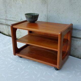 Denmark Teak Sofaboard Side Table Beistelltisch Toften Möbelfabriken 60er Modern Bild
