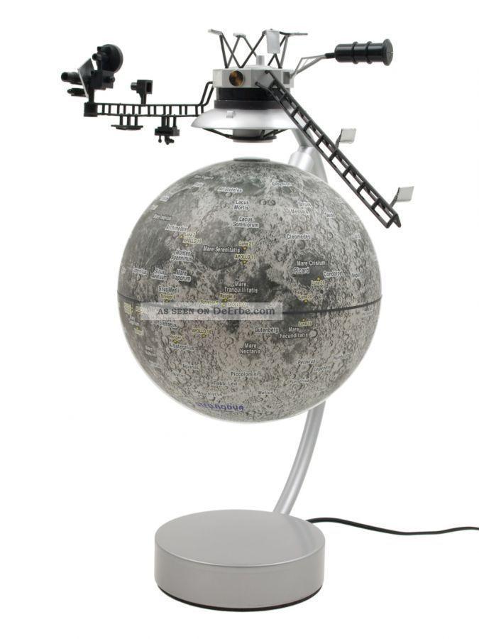 Stellanova Mond Globus 15cm Magnet Schwebeglobus Magnetglobus Design Objekt B. Wissenschaftliche Instrumente Bild