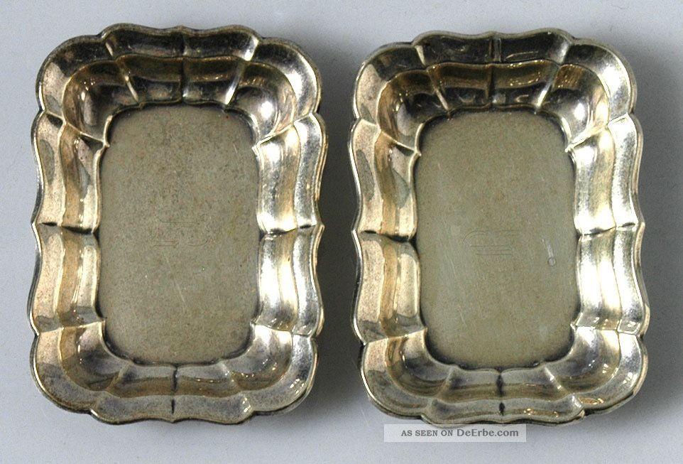 2 Stück Silberschälchen,  Reed & Barton,  Sterlingsilber Objekte nach 1945 Bild