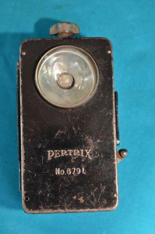 2.  Wk Wehrmacht Pertrix No.  679l Taschenlampe Bild