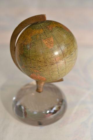 Sammlerstück Antiker Rand,  Mcnally&company American Globe And School Globus 1891 Bild