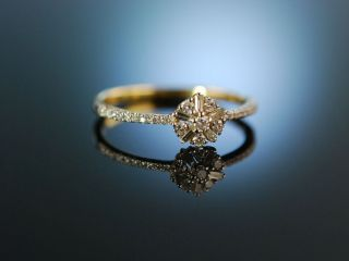 Diamond Engagement Ring Verlobungsring Gold 750 Diamanten Brillanten Bild