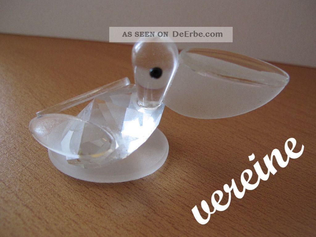 Glasfigur Pelikan Tierfigur Glas & Kristall Bild