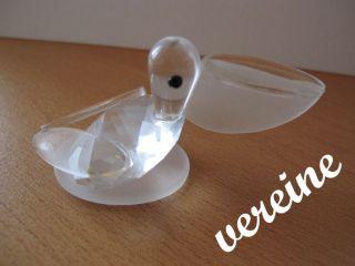 Glasfigur Pelikan Tierfigur Bild