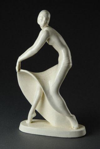 Schlafende Katze,  Limoges Porzellan,  Edouard Sandoz FÜr Haviland,  Art Deco,  1930 Bild