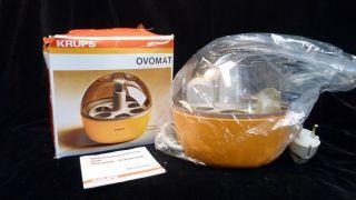 Krups Eierkocher Ovomat 238 - Orange - 70 Er Jahre - Vintage - - Für 6 Eier Bild