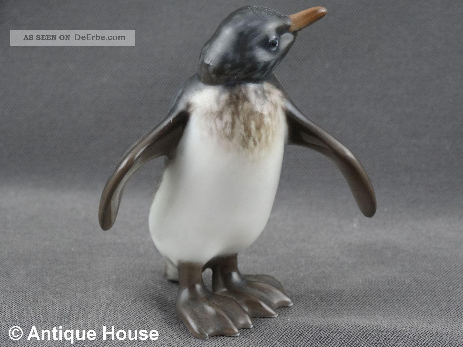 Rosenthal Porzellanfigur Pinguin Figur Modell 399 Handgemalt 01 Nach Marke & Herkunft Bild