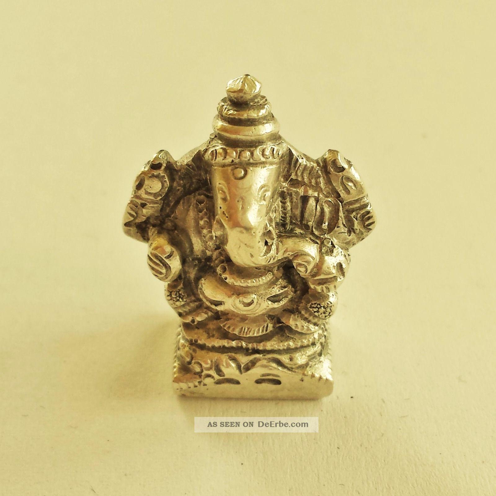 Ganesha Figur,  Silber 800er,  Jugendstil,  Elefant Schmuck & Accessoires Bild