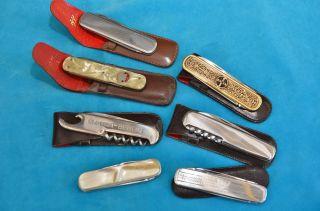 Sammlung Alter 7 Stück Taschenmesser Bild