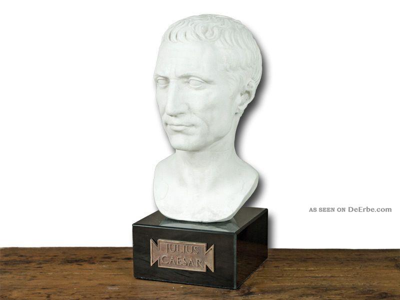 Büste Julius Caesar - Römische Replik Antike Bild