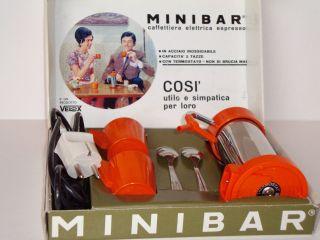 Espresso - Velox Minnibar - Elektro Kaffeemaschine - 70er Jahre Bild