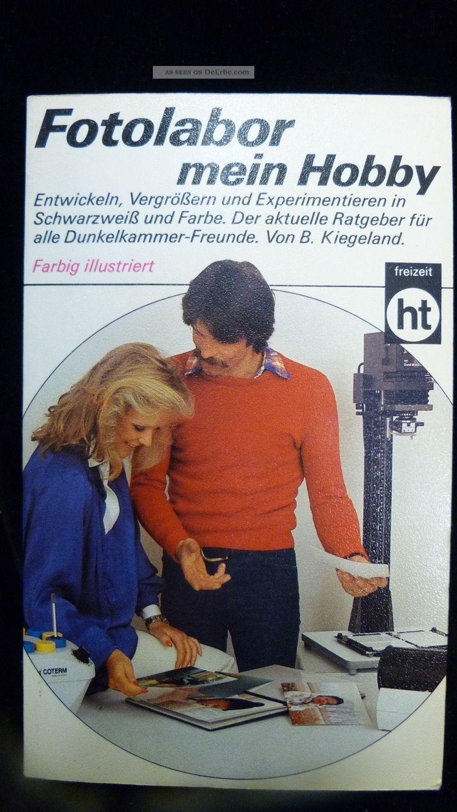 Fotolabor Mein Hobby - Von B.  Kiegeland - Deutsche Ausgabe 1982 Photographica Bild