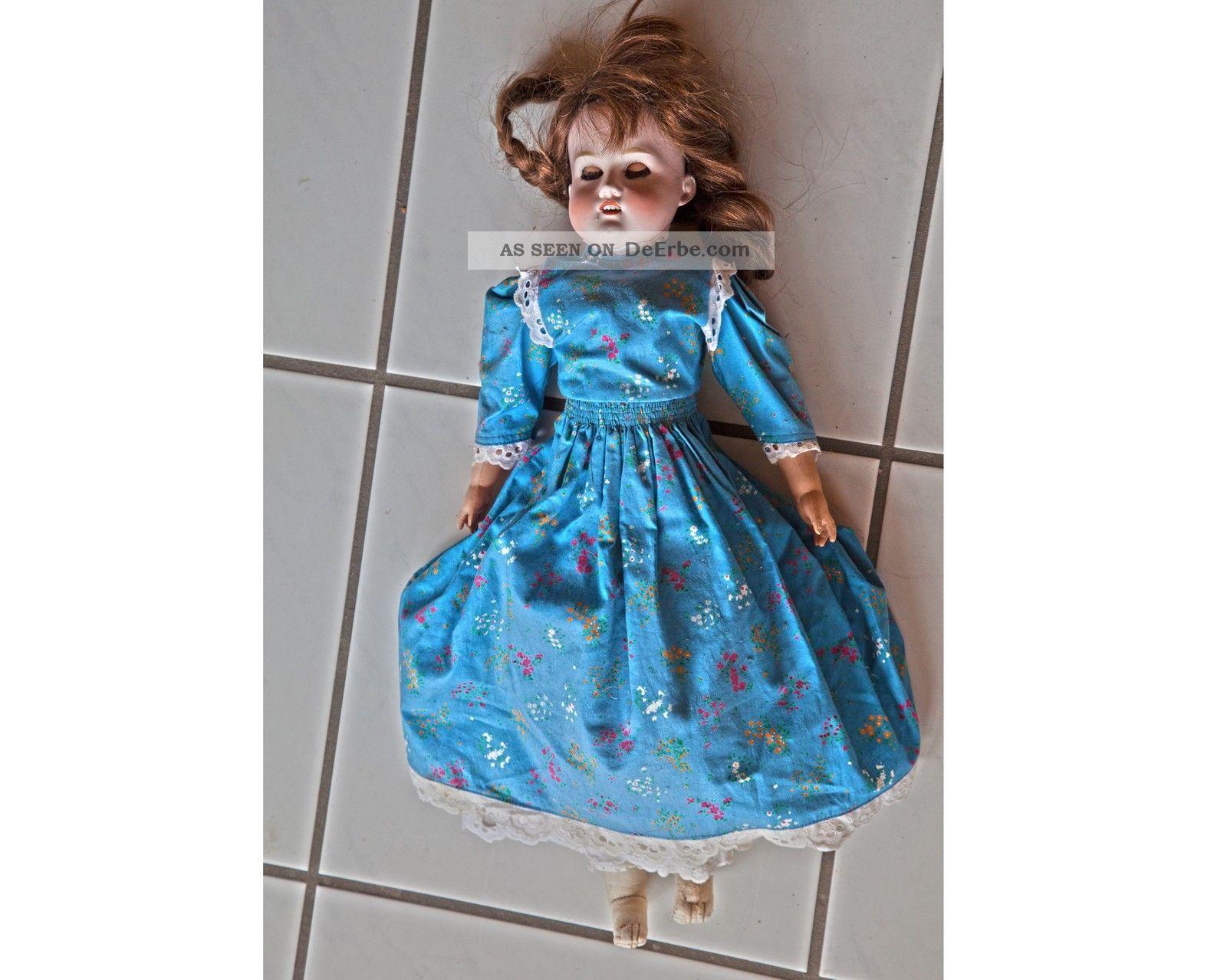Puppe Armand Marseille 370 Porzellankopf Porzellankopfpuppen Bild