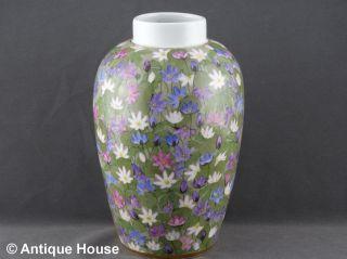 Nymphenburg Alte Vase Jugendstil Handgemalt Signiert R.  Sieck Bild