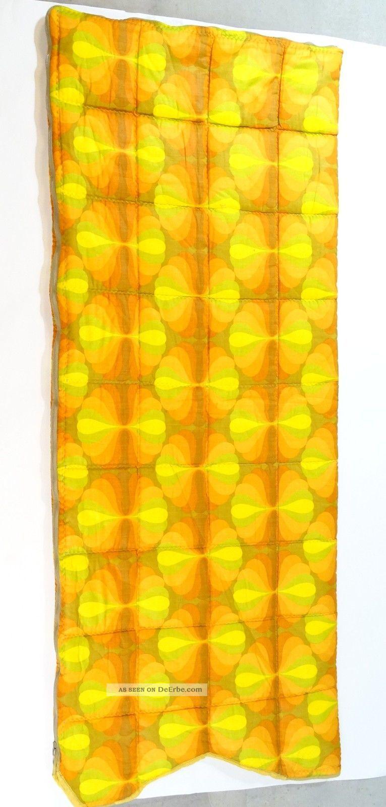 Panton Ära 70er Jahre Space Age Schlafsack 1,  8 X 0,  7m Festival Summer Sauber 1970-1979 Bild