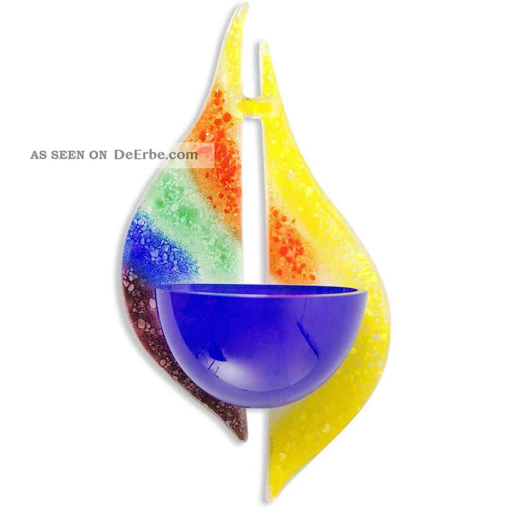 Weihwasserkessel Regenbogen Modern Glas 19 X 9,  5 X 4,  5 Cm Kirchliches Gerät & Inventar Bild