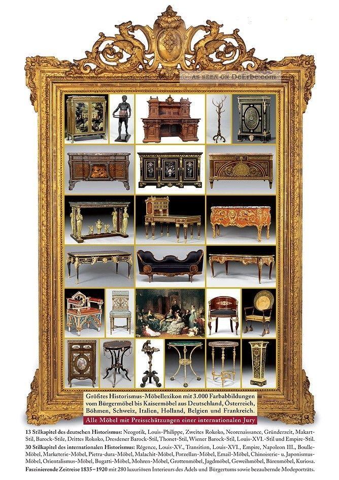 historismus m bel in deutschland und europa prachtvolle. Black Bedroom Furniture Sets. Home Design Ideas
