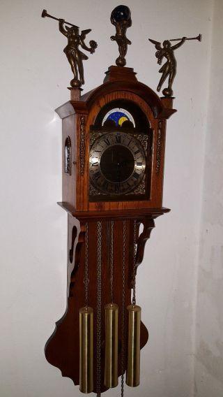 Wanduhren,  Pendeluhren,  Regulator,  Sammleruhren,  Westminster,  Mondphase Bild