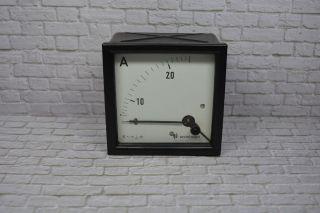 Neuberger Amperemeter 7042 - 50551/din 0 - 20/30aac; K23 100 Bild