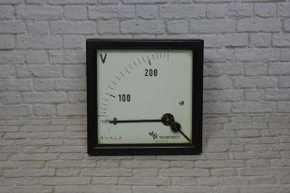 Voltmeter,  Hersteller Neuberger 0 - 200/250vac; K23 11 Bild