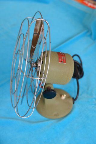 Sammlerstück Hüttmann Tw25 Ventilator Tischventilator 40/50er Jahre Bild
