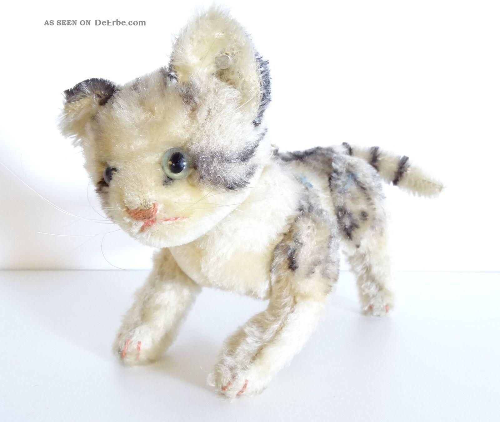 Alte Steiff Katze Kätzchen