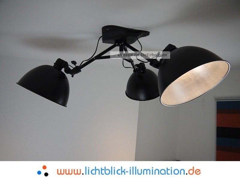 Designer Hänge Lampe Sputnik Art Deco Bauhaus Studio Spot Moderne Pendel Leuchte Ab 2000 Bild