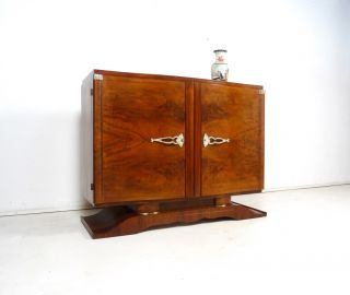 Art Deco Sideboard Modernist Design Atelier Kommode Antik MÖbel 1930 Bild