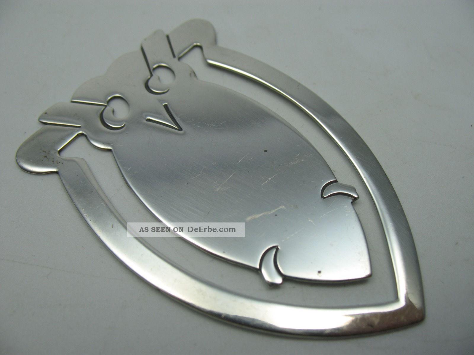 Wunderschönes Eule Lesezeichen Aus 925 Sterling Silber Objekte nach 1945 Bild