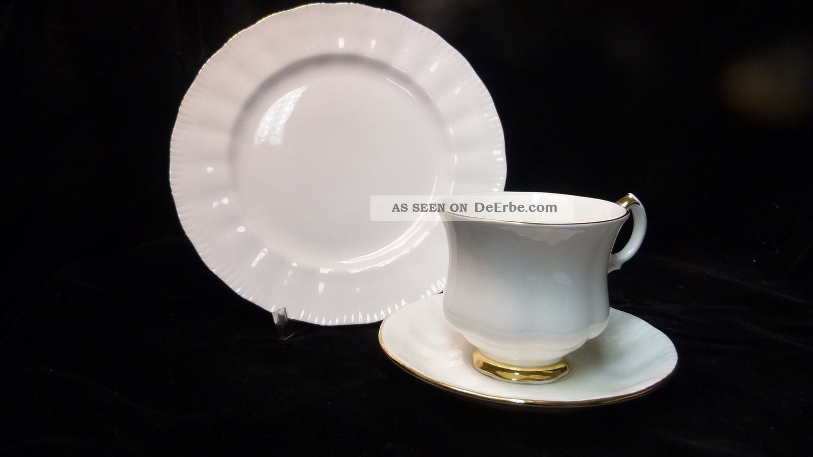 Royal Knight - Sammelgedeck - Bone China Porzellan - England - Vintage Nach Form & Funktion Bild