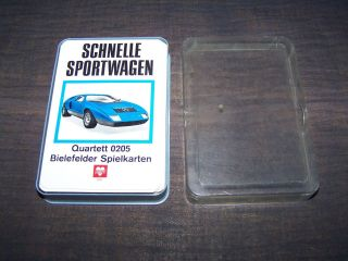 Schönes Quartett Schnelle Sportwagen Nummer 0205 Bielefelder Von 1970 Bild