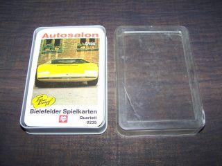 Schönes Quartett Autosalon Nummer 0235 Bielefelder Von 1972 Bild