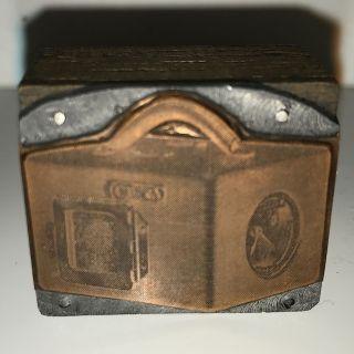 Antiker Prägestempel Stempel - Uhrmacherbedarf